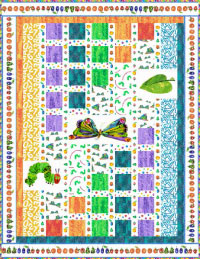 The Very Hungry Caterpillar : caterpillar quilt pattern - Adamdwight.com